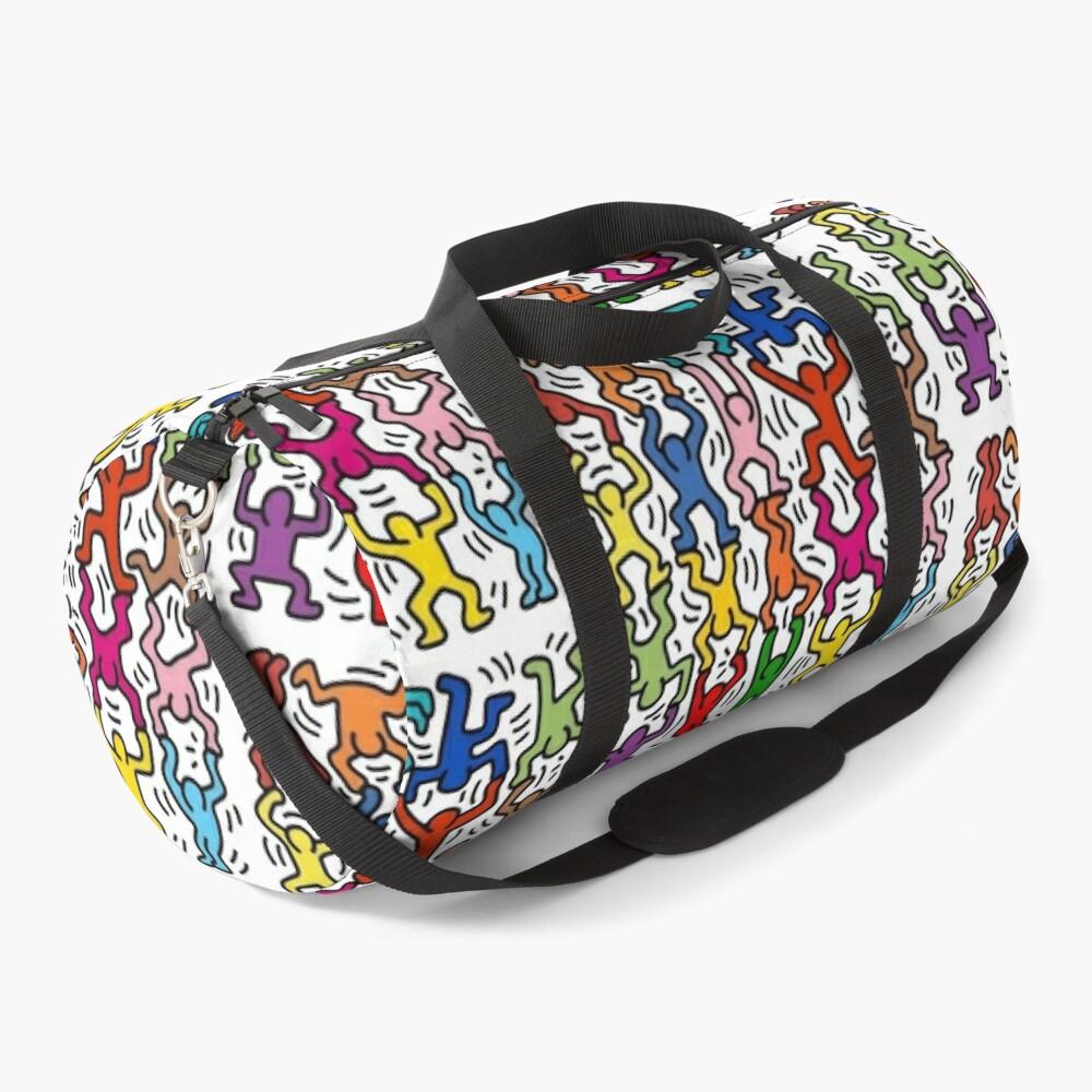 haring copy pop art Duffle Bag