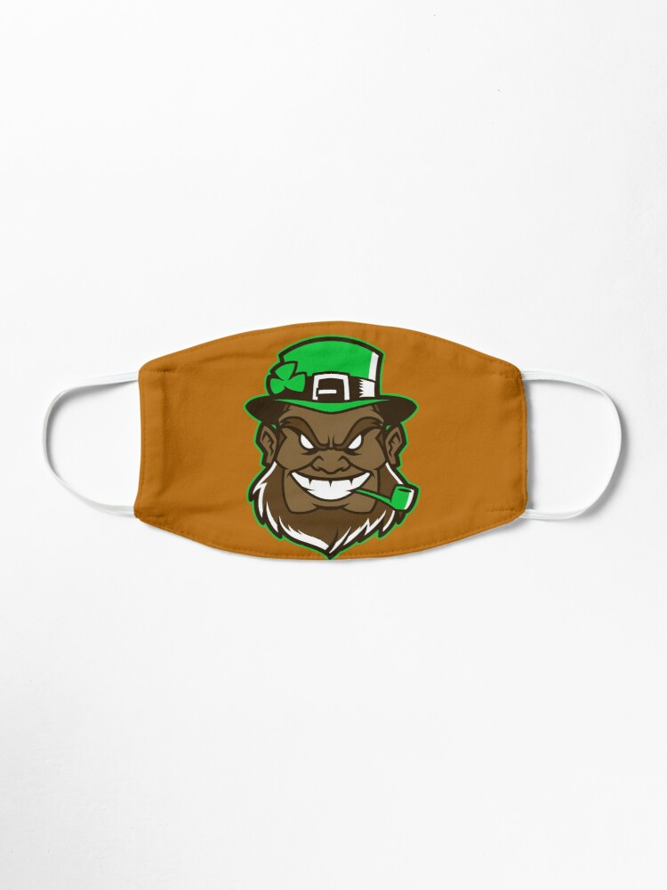 Alternate view of leprechaun  Mask