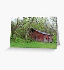 Markland Pike Barn Greeting Card