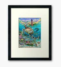 Jupiter Haven Framed Print