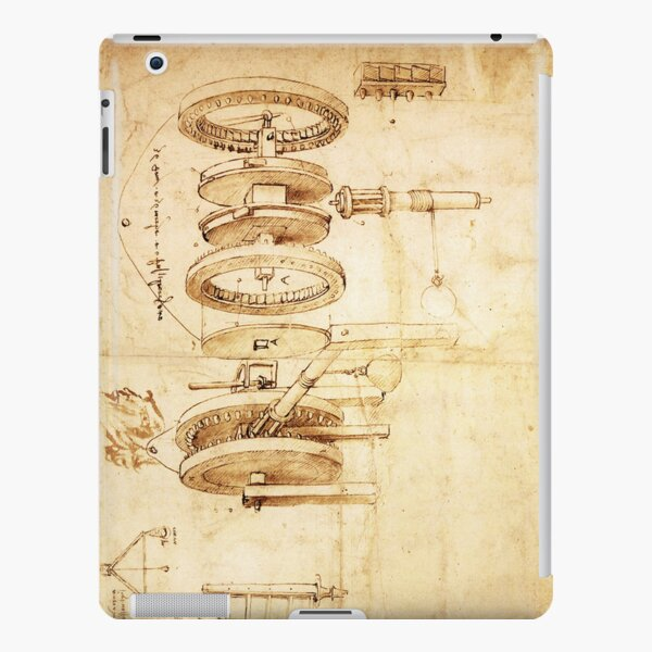 Invention by Leonardo da Vinci iPad Snap Case
