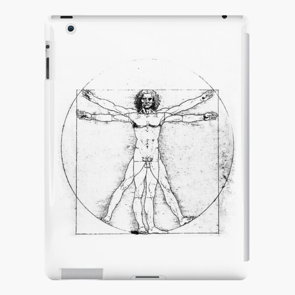 Vitruvian Man iPad Snap Case