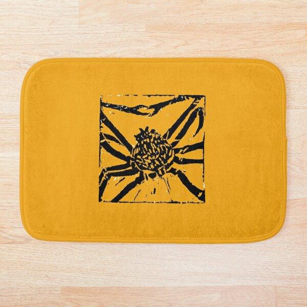 Giant Spider Crab  Bath Mat