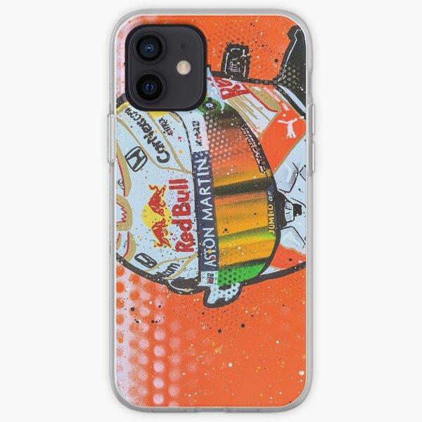 Max Verstappen 2020 - F1 graffiti painting by DRAutoArt iPhone Soft Case