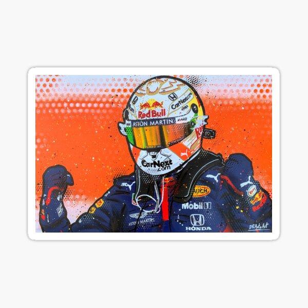 Max Verstappen 2020 - F1 graffiti painting by DRAutoArt Sticker