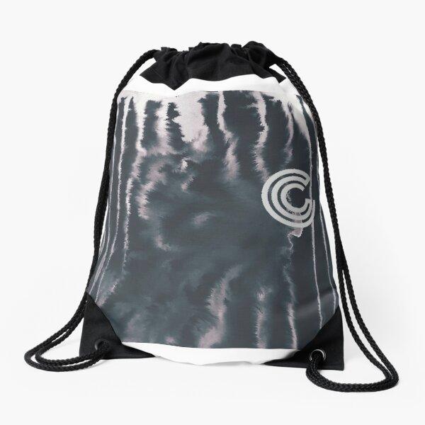CCS black tye Drawstring Bag