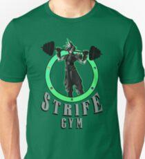 Strife's Gym! - Final Fantasy T-Shirt