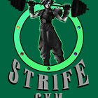 Strife's Gym! - Final Fantasy by Cookied9