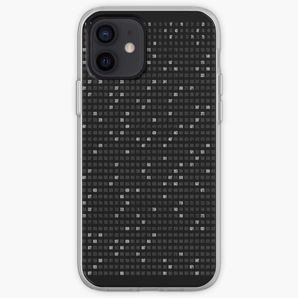 Prime Numbers iPhone Soft Case