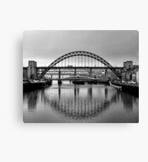 Tyne Bridges Canvas Print