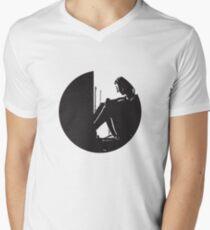 Mathilda Leon: The Professional Mens V-Neck T-Shirt