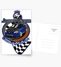 Jager Racing Devious Badger Postcards