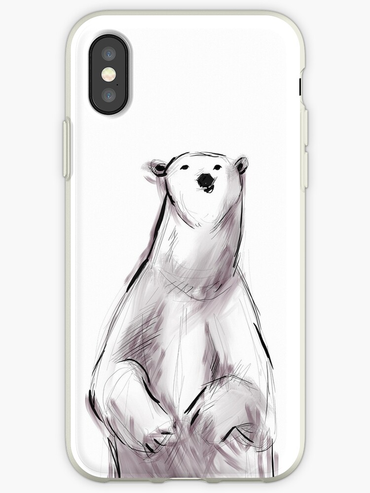 Cute Polar Bear by shrija jain