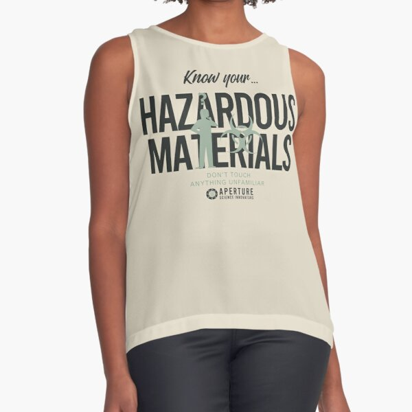 Know Your Hazards Sleeveless Top