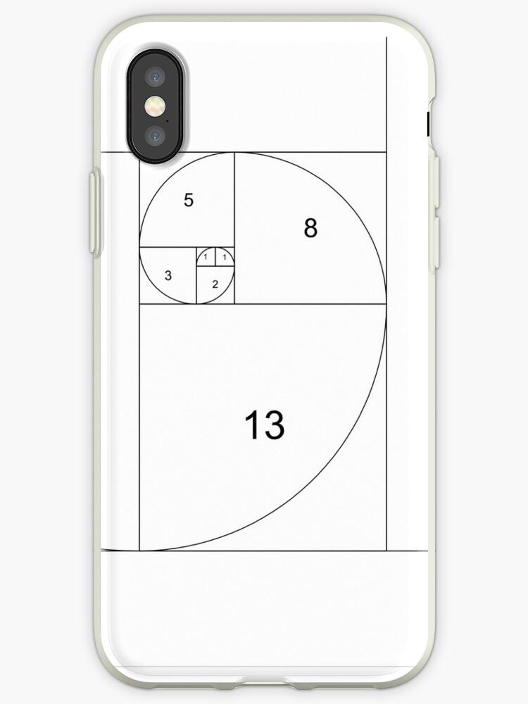 save off f1bca bdab4 'Golden Spiral | Fibonacci Numbers' iPhone Case by Joyce Flendrie
