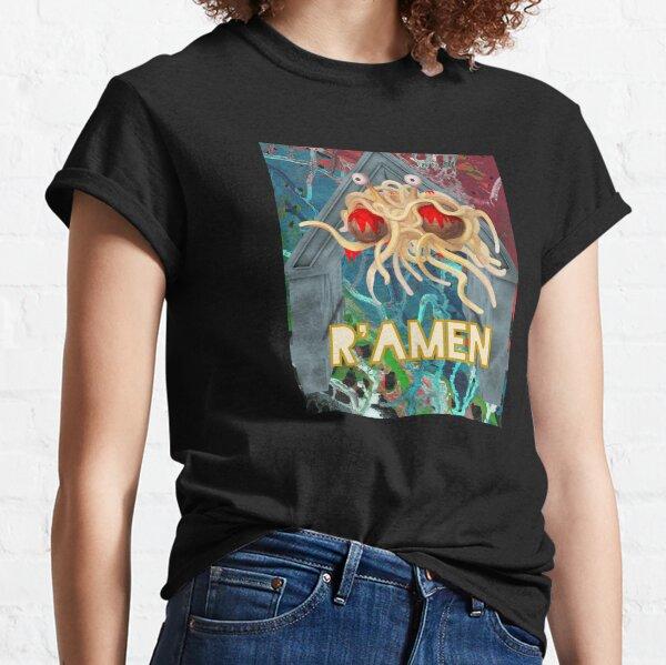 Flying Spaghetti Monster Abstract - R'Amen Classic T-Shirt