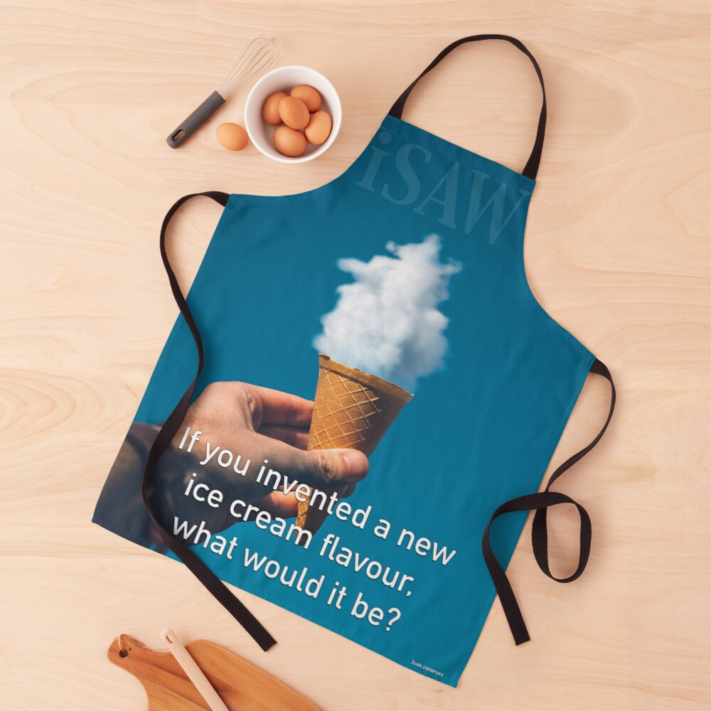 If You Invented A New Ice Cream Flavour Apron