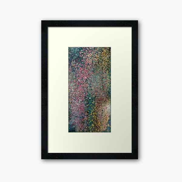 Abstract Painting 082920.2   Framed Art Print