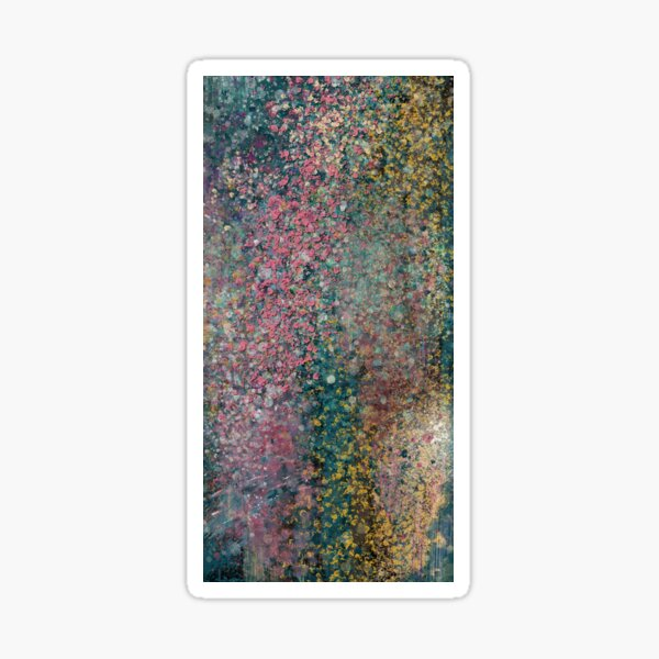 Abstract Painting 082920.2   Sticker
