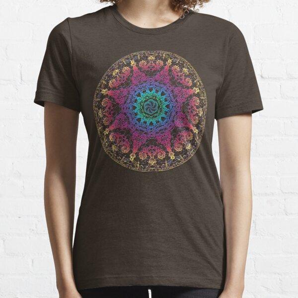 Glückseligkeitsenergie Yoga Chakra Mandala Essential T-Shirt