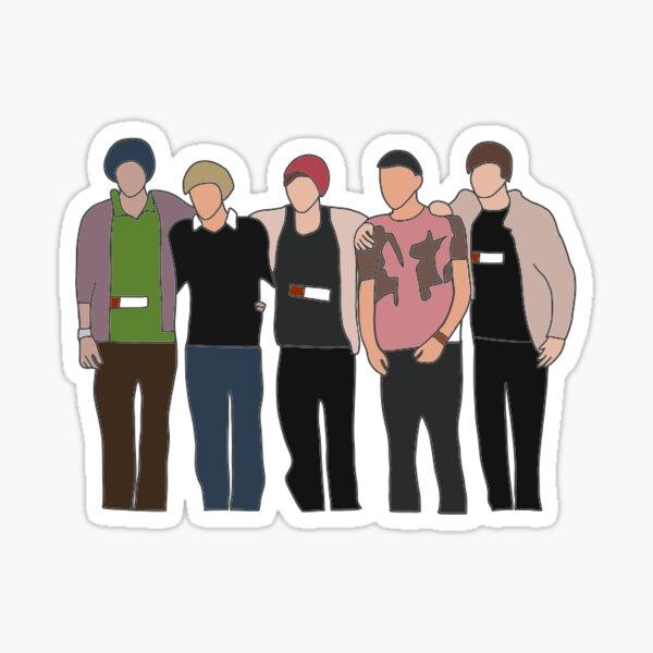 One Direction X-Factor Sticker