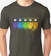 Gameboy Rainbow Tee T-Shirt