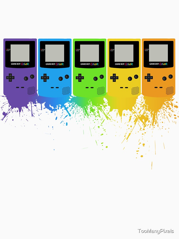 Gameboy Rainbow Tee | Unisex T-Shirt