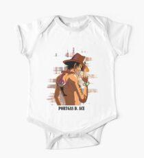 ONE PIECE - Portgas D. Ace T-SHIRT Kids Clothes