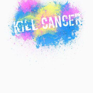 Kill Cancer! by sparksandburns