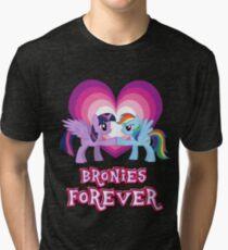 Bronies Forever 3 Tri-blend T-Shirt