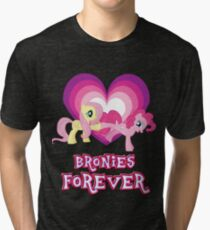Bronies Forever 15 Tri-blend T-Shirt