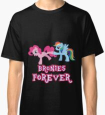 Bronies Forever (No Heart) 2 Classic T-Shirt