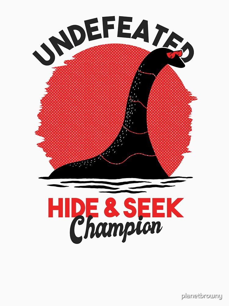 Undefeated Hide & Seek Champion von planetbrowny