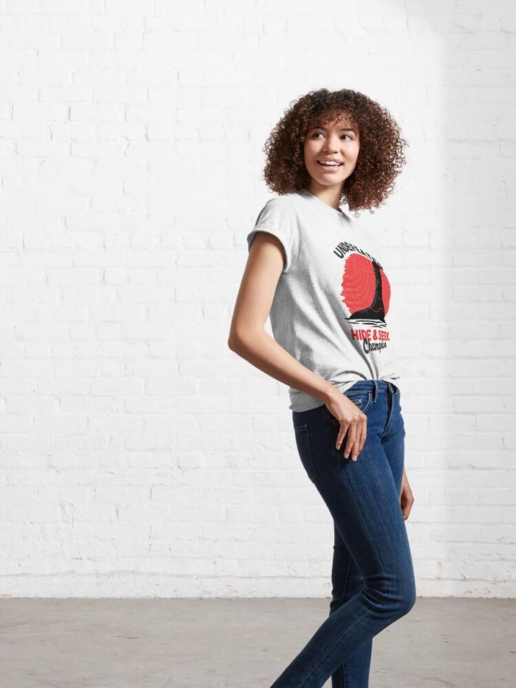 Alternative Ansicht von Undefeated Hide & Seek Champion Classic T-Shirt