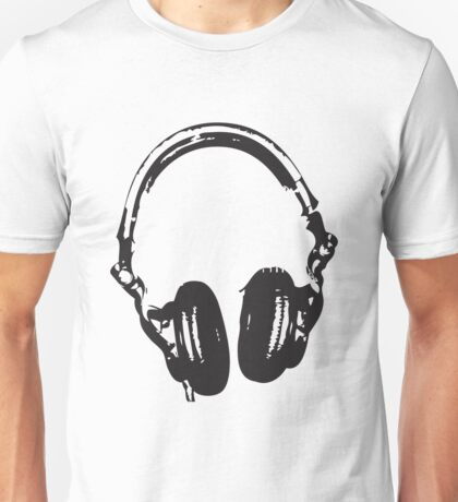 Headphone Unisex T-Shirt