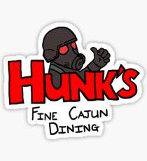HUNK's Fine Cajun Dining Sticker