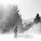 Swirling Snow by Tracy Friesen