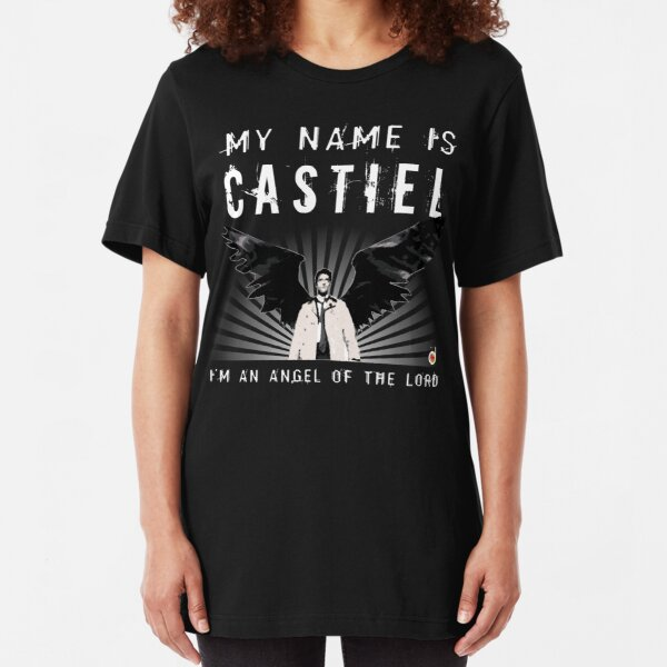 CASTIEL ANGEL DEL SEÑOR Camiseta ajustada