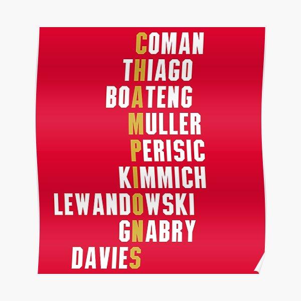 Fc Bayern Munich Posters Redbubble