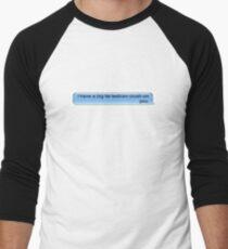 Lesbian Crush Men's Baseball ¾ T-Shirt