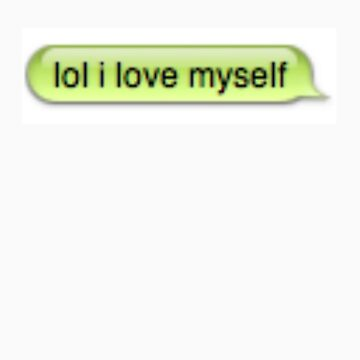 lol i love myself by kennethlovee