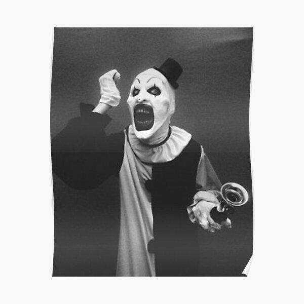 Terrifier art the clown  Poster