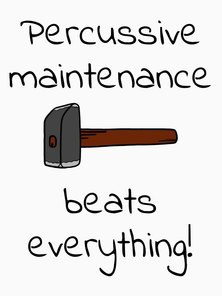 percussive maintenance by coldteacomics
