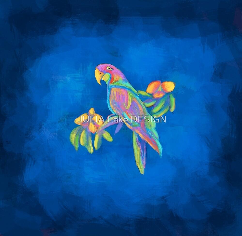 Tropical Bird  by JULIA Lake DESIGN
