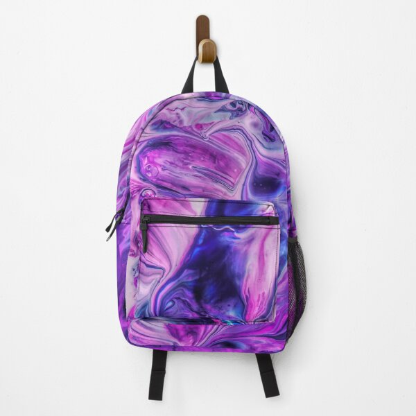 Purple Psychedelic Backpack