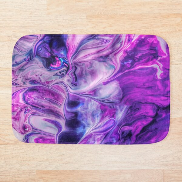 Purple Psychedelic Bath Mat
