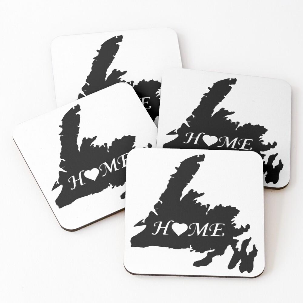Newfoundland Home Coasters (Set of 4)