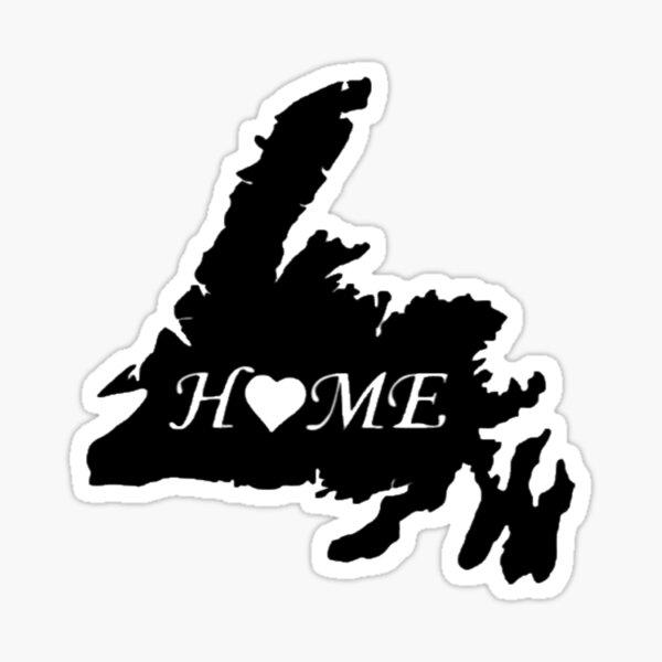 Newfoundland Home Sticker