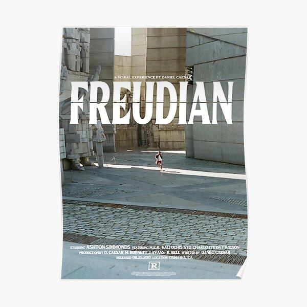 DANIEL CAESAR'S FREDUIAN Poster