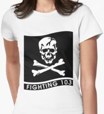 VFA-103 Jolly Rogers Women's Fitted T-Shirt